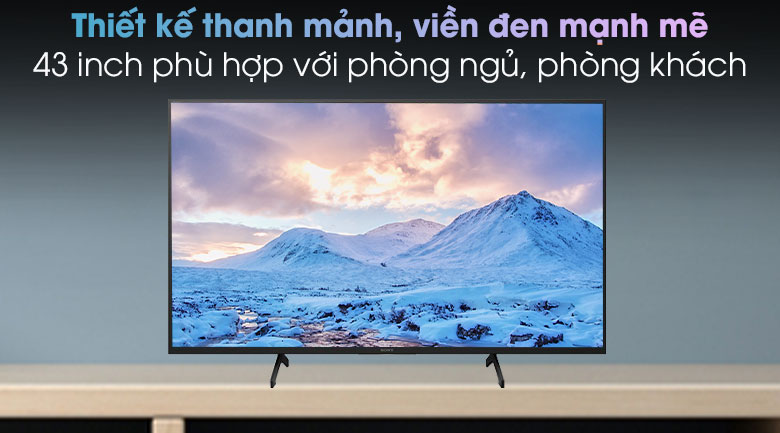 Android Tivi Sony 4K 43 inch KD-43X7500H