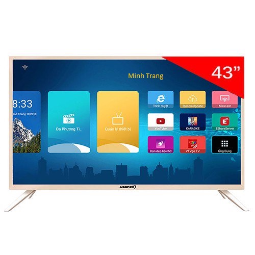 Smart Tivi Asanzo 43 inch 43AS650